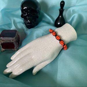 Jewelry - Drawstring Skull Bracelet